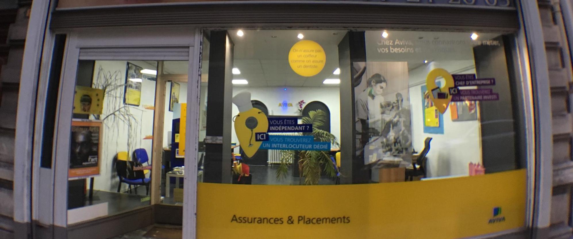 agence assurance AVIVA Saint-Etienne