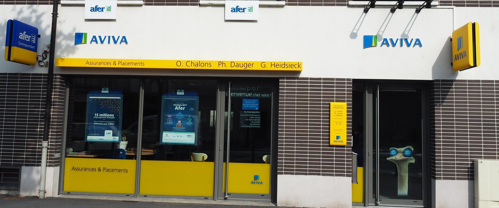 agence assurance AFER REIMS