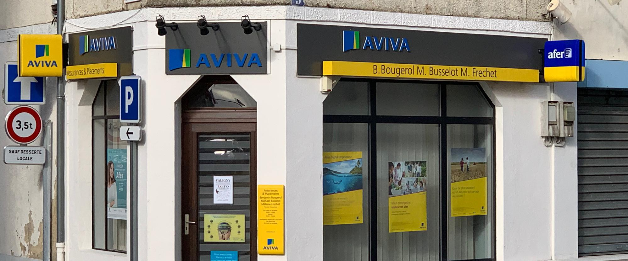 agence assurance AVIVA Sancoins