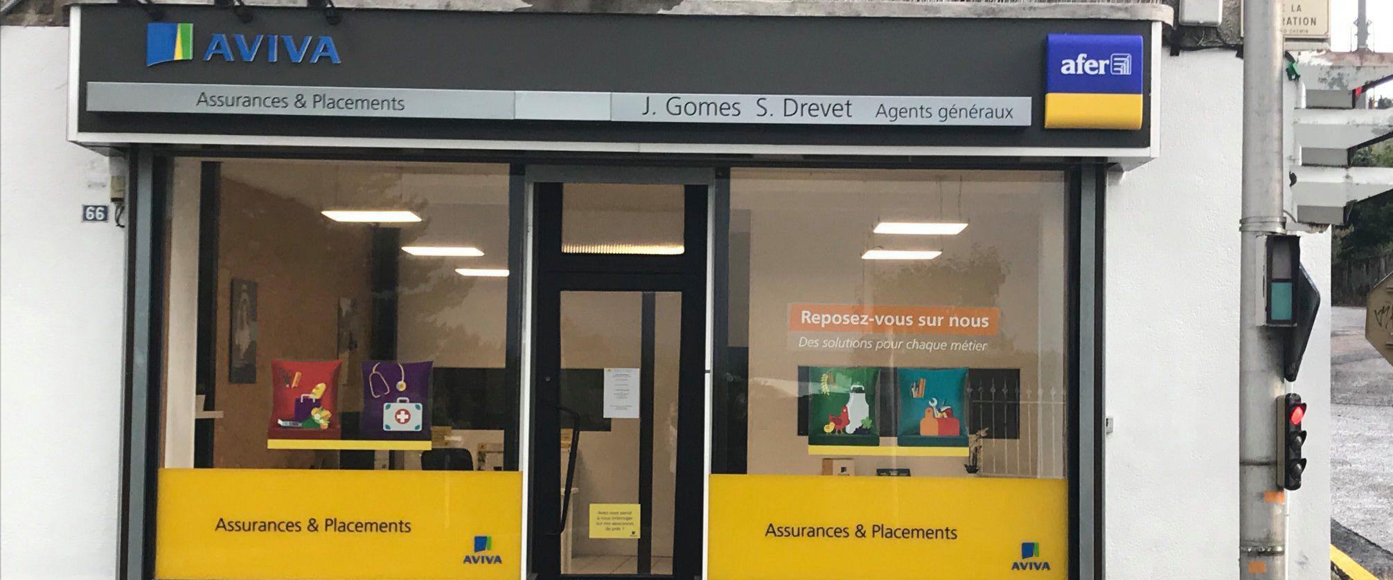 agence assurance AVIVA Monistrol sur Loire
